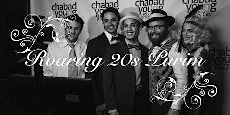 Roaring 20s Purim tickets