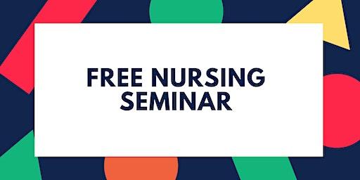 Free Nursing Seminar