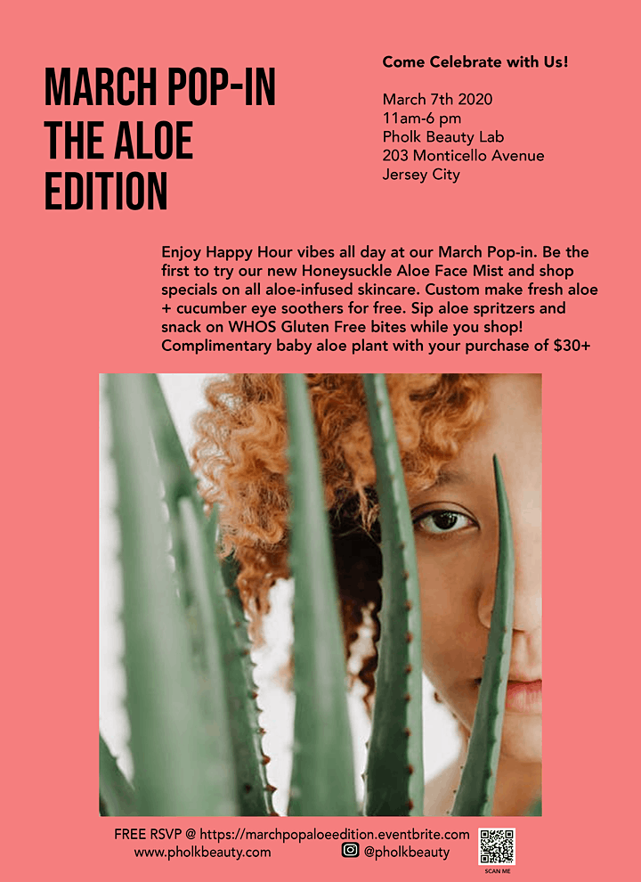 March Pop-In: The Aloe Edition image
