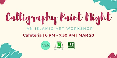Calligraphy Paint Workshop (all ages welcome!) tickets