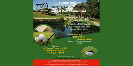 NFBPA - FORUM 2020:  Swinging for Scholarships Golf Tournament tickets