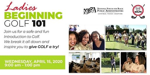 NFBPA Forum 2020 presents She Who Golfs