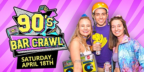 90's Bar Crawl tickets