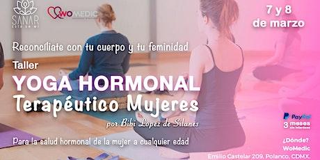 Taller Yoga Hormonal Terapéutica Mujeres CDMX entradas