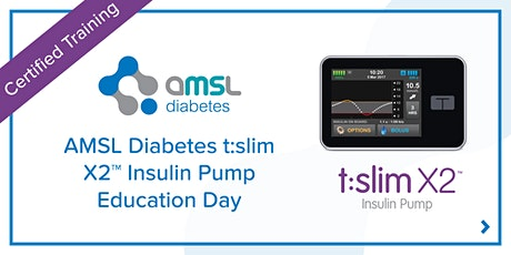 AMSL Diabetes t:slim X2™ Insulin Pump Education Day tickets