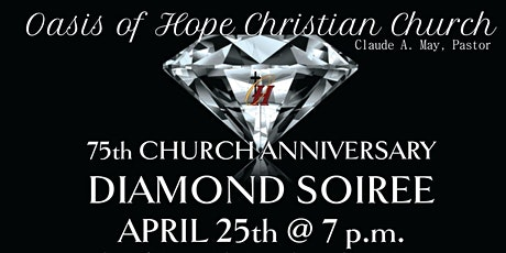 75th Church Anniversary Diamond Soiree tickets