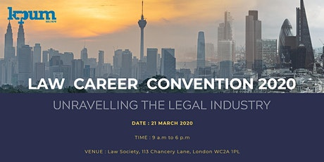 KPUM Law Career Convention 2020 tickets