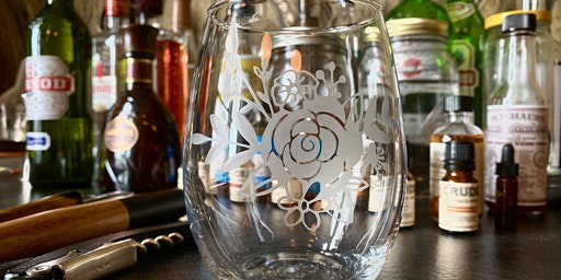 Wine & Art Wednesday: Etched Wine Glasses