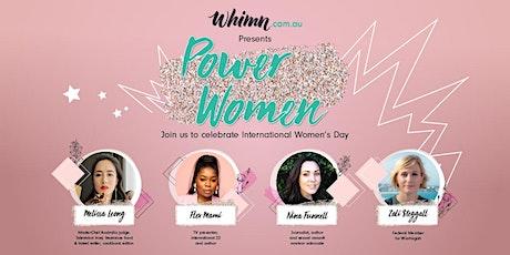 Power Women - whimn.com.au | An International Women's Day event tickets