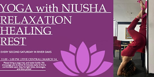 Yoga with Niusha in River Oaks