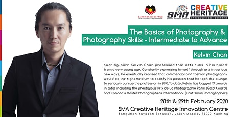 The Basics of Photography & Photography Skills- Intermediate to Advance tickets