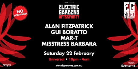 Electric Gardens Afterparty tickets
