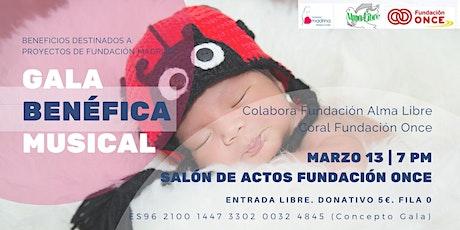 Gala Benéfica Musical a beneficio de Fundación Madrina entradas