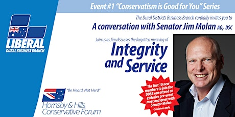 A Conversation with Senator Jim Molan AO DSC tickets