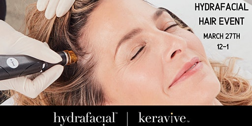 Hydrafacial Scalp Lunch and Learn