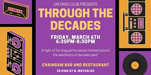 Through the Decades - Drag Show