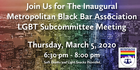 MBBA LGBT Subcommittee Meeting tickets