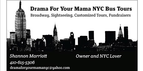 New York City DAY ON YOUR OWN Bus Trip tickets