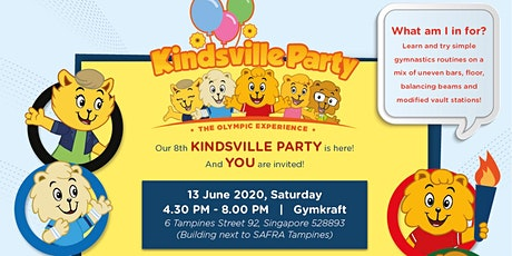 Kindsville Party 2020 - The Olympic Experience tickets