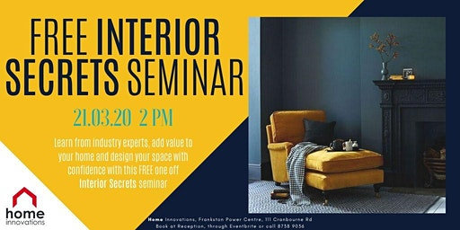 Interior Secrets Seminar