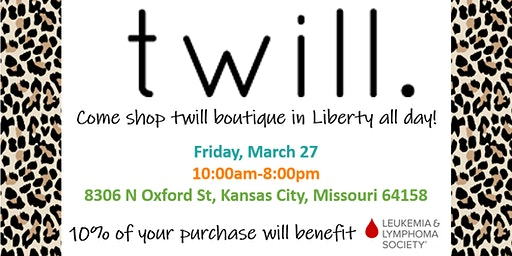 Shop Twill Boutique for a Good Cause