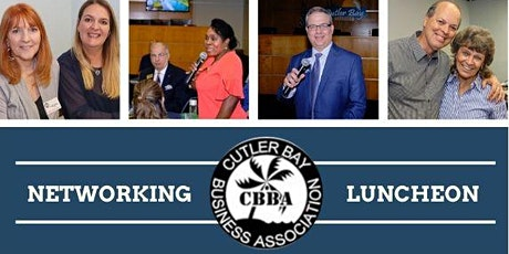 APRIL CBBA NETWORKING LUNCHEON tickets