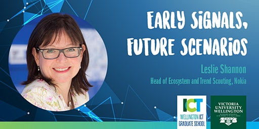 """Early Signals, Future Scenarios"" by Leslie Shannon from Nokia"