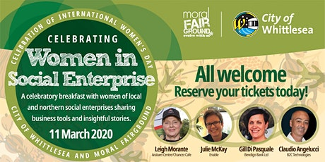 International Women's Day Breakfast - Celebrating Women in Social Enterpris tickets
