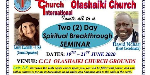 Spiritual Breakthrough Seminar