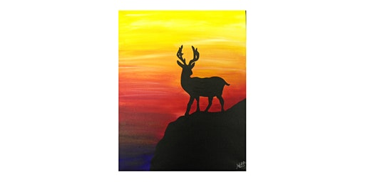 Adult Paint N'Sip| Oh Deer! | $25-$30