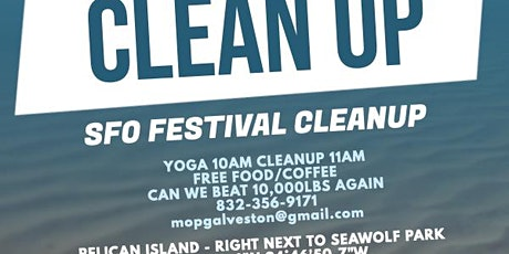 Free YOGA - Post Ocean Festival Cleanup tickets