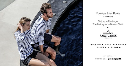 From Seafarer to Chanel | The history of a Breton Shirt by Saint James  tickets