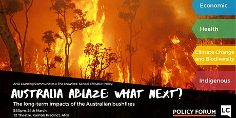 Australia Ablaze: What Next? tickets
