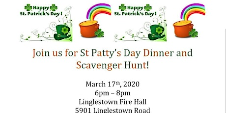 St Patty's Day Dinner and Scavenger Hunt tickets