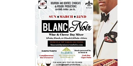 Blanc Noir Day Mixer tickets
