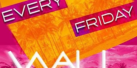 Wall Fridays at WALL Lounge Miami 3/6 tickets