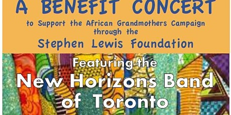 New Horizon Jazz and Concert Band Support The Stephen Lewis Fund tickets