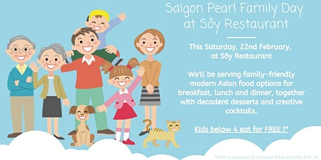 Family Day at Sôy Restaurant tickets