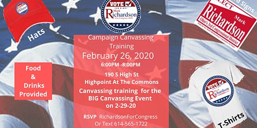 Campaign Meet, Greet and Canvassing Training
