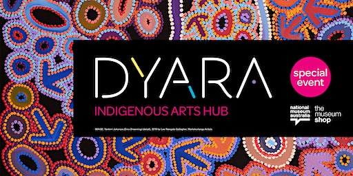 Dyara Indigenous Arts Hub panel and shopping experience