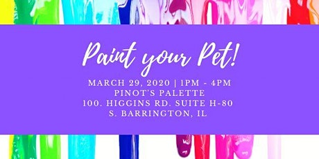 Paint It Forward for Tiny n Tall Rescue tickets