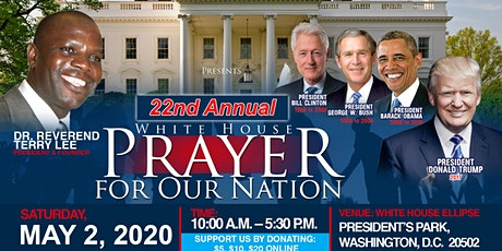 White House Prayer for Our Nation tickets