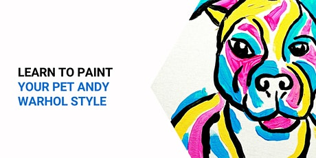 Ripley Vet - Learn to paint your pet 'Andy Warhol style'! tickets