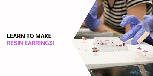 Moselles Springfield - Grab a glass of wine and learn to make Resin Studs!