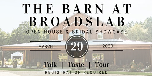 The Barn at Broadslab Open House and Bridal Showcase