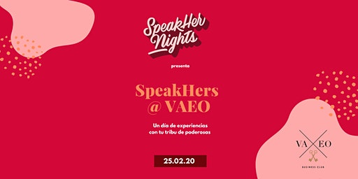 Speakhers @ VAEO