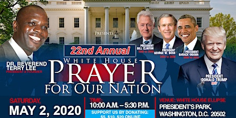 Copy of White House Prayer for Our Nation tickets
