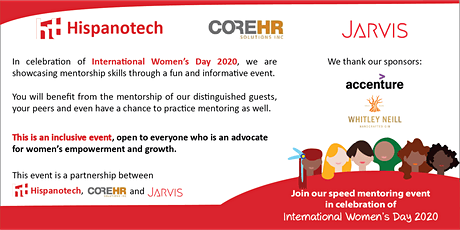 Speed Mentoring Event- Celebration of International Women's Day 2020 tickets