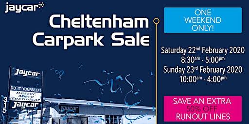 Cheltenham Carpark Sale | 50% Off Runout Lines