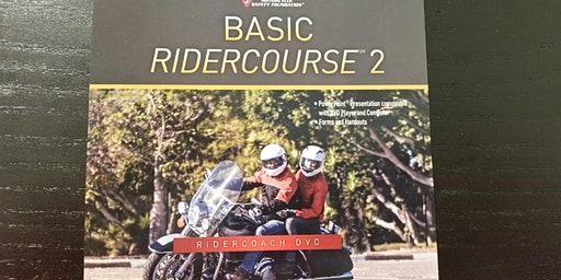 ERC/BRC2#428E 5/5 & 5/9 (ADVANCED COURSE - Tues night classroom session & Sat AFTERNOON riding session)